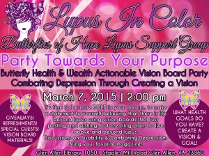 BUTTERFLIES OF HOPE LUPUS SUPPORT GROUP