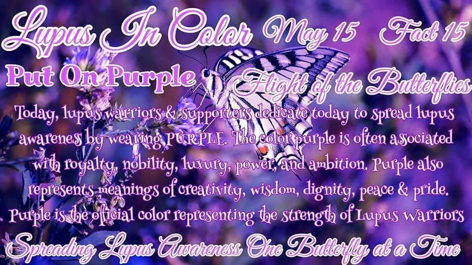 Spread Lupus Awareness Page 20 Lupus In Color