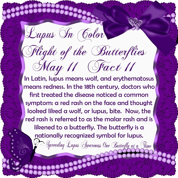 May 11 Lupus Fact Lupus In Color