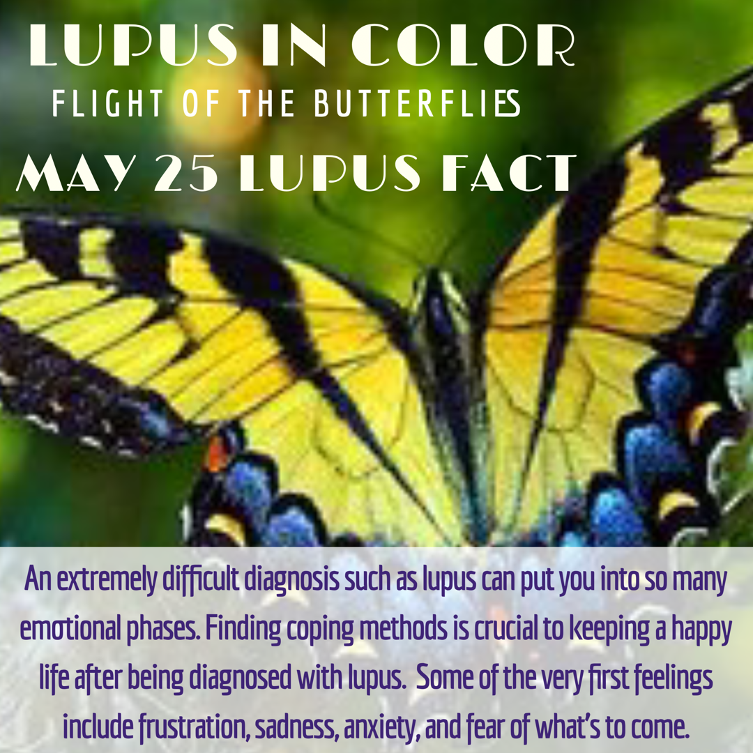 Lupus awareness page 11 lupus in color an extremely difficult diagnosis such as lupus can put you into so many emotional phases finding coping methods is crucial to keeping a happy life after biocorpaavc Image collections