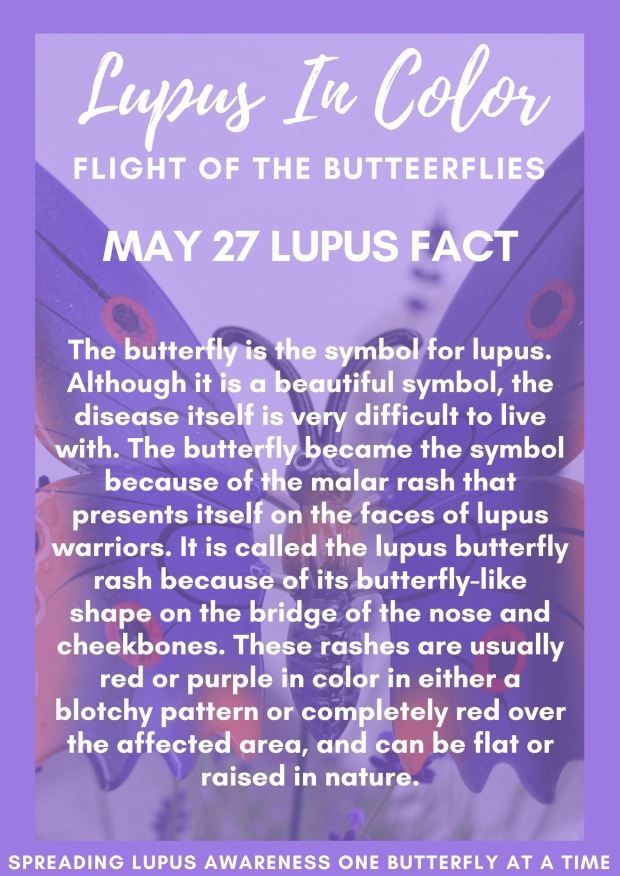 May 27 Lupus Fact Lupus In Color