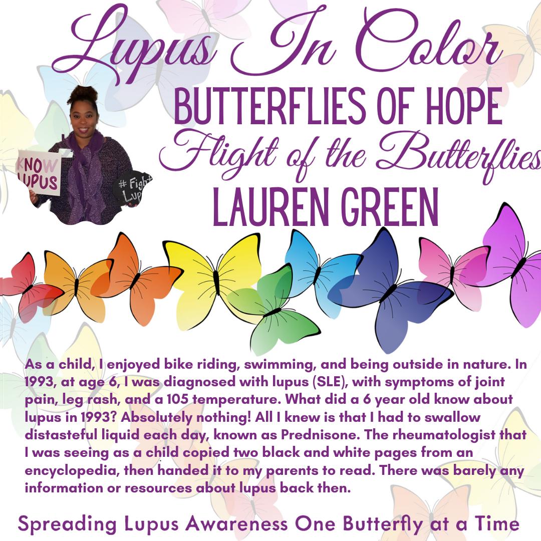Butterfly Flight Lauren Green