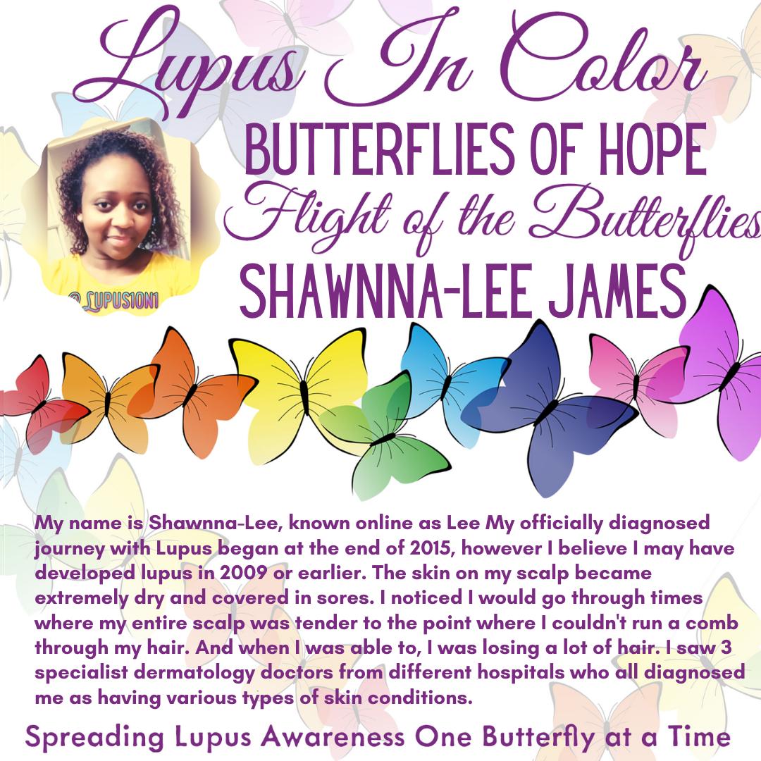 Butterfly Flight Shawnna-Lee James