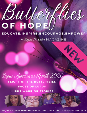 BUTTERFLIES OF HOPE LUPUS IN COLOR MAGAZINE JUNE 2020